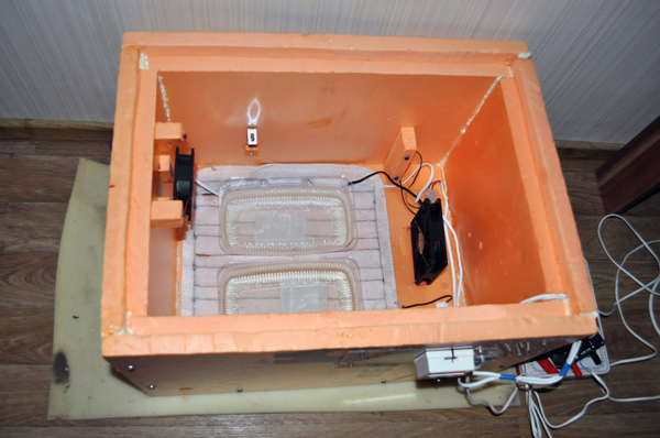 Преимущество изготовления инкубатора своими руками