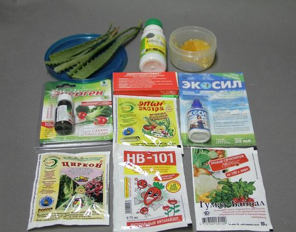 Обработка семян моркови стимуляторами роста